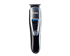 "Solac Hair Clipper With Attachments Titanium Black W ""Mens Face Styler"""