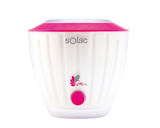 Solac Wax Heater Single Tub Pink W Quot Carepil Quot Solac S90302500 Solac